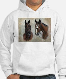 Hoodie with horses