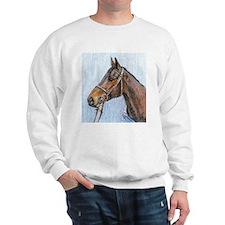 Sweatshirt racehorse design