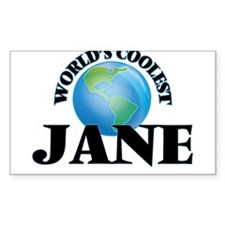 World's Coolest Jane Decal