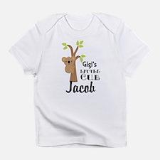 Personalized Gigi gift for Grandchild Infant T-Shi