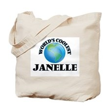 World's Coolest Janelle Tote Bag