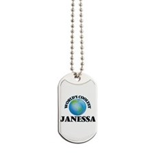 World's Coolest Janessa Dog Tags