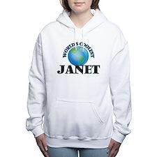 World's Coolest Janet Women's Hooded Sweatshirt