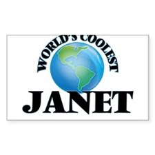 World's Coolest Janet Decal