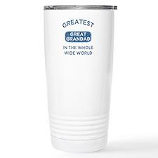 Greatest Great Grandad Travel Mug
