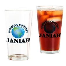World's Coolest Janiah Drinking Glass