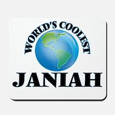 World's Coolest Janiah Mousepad