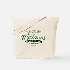 Merlotte's In Bon Temps True Blood Tote Bag