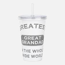 Greatest Great Grandad Acrylic Double-wall Tumbler