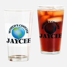 World's Coolest Jaycee Drinking Glass
