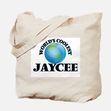World's Coolest Jaycee Tote Bag