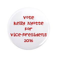 """Vote Kelly 3.5"""" Button"""