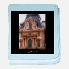 The Louvre baby blanket