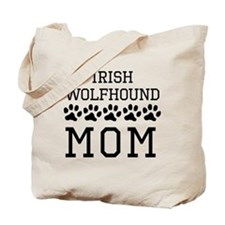 Irish Wolfhound Mom Tote Bag