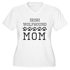 Irish Wolfhound Mom Plus Size T-Shirt