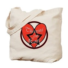 Thriving On Love Tote Bag