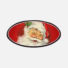 Vintage Christmas Santa Claus Patches