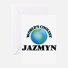 World's Coolest Jazmyn Greeting Cards