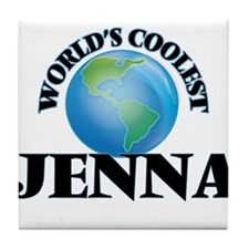 World's Coolest Jenna Tile Coaster