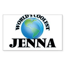 World's Coolest Jenna Decal