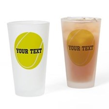 Personalized Tennis Gift Drinking Glass