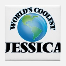 World's Coolest Jessica Tile Coaster