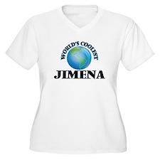 World's Coolest Jimena Plus Size T-Shirt