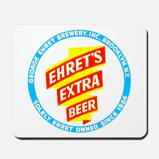 Ehret's Beer-1940 Mousepad