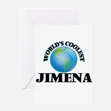 World's Coolest Jimena Greeting Cards