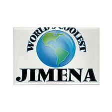 World's Coolest Jimena Magnets