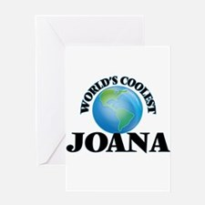 World's Coolest Joana Greeting Cards