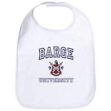 BARGE University Bib