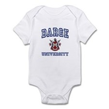BARGE University Infant Bodysuit