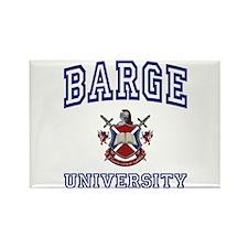 BARGE University Rectangle Magnet
