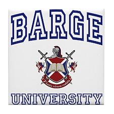 BARGE University Tile Coaster