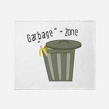 Garbage Zone Throw Blanket