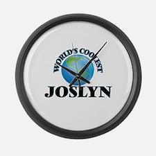 World's Coolest Joslyn Large Wall Clock