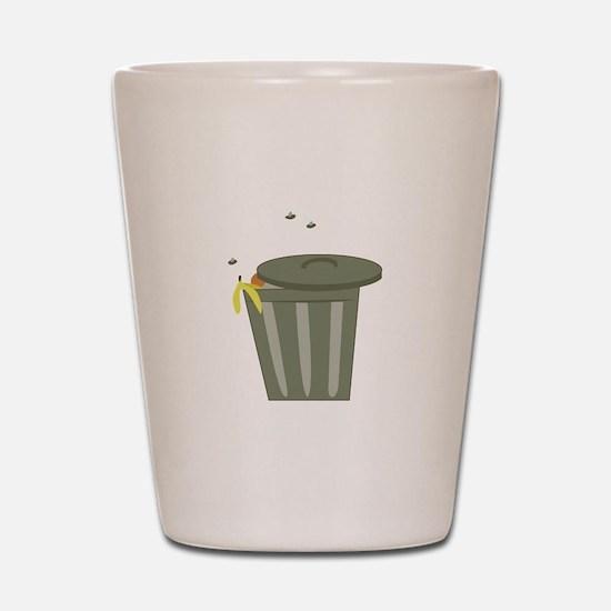 Trash Can Shot Glass