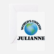 World's Coolest Julianne Greeting Cards