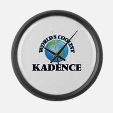 World's Coolest Kadence Large Wall Clock