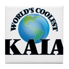 World's Coolest Kaia Tile Coaster