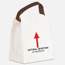 Natural Selection at its Finest. Canvas Lunch Bag