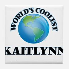 World's Coolest Kaitlynn Tile Coaster