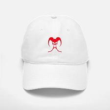 Red reaper skull Cap