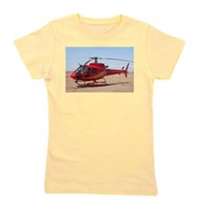 Helicopter, red Girl's Tee