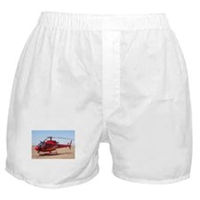 Helicopter, red Boxer Shorts