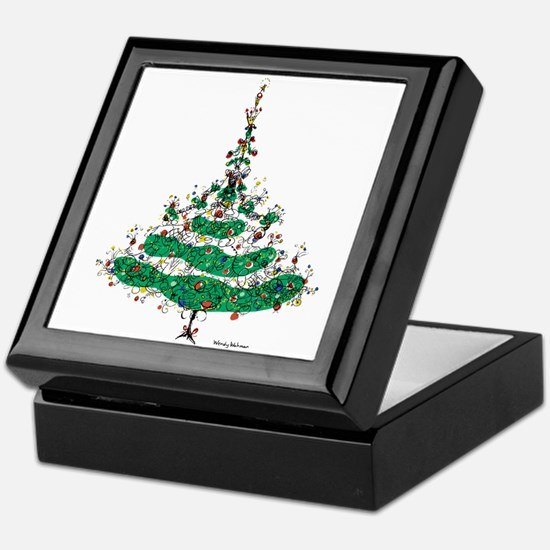 Christmas Dress Keepsake Box