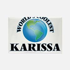 World's Coolest Karissa Magnets