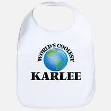 World's Coolest Karlee Bib