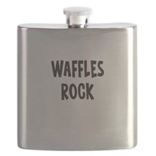 Waffles Rock Flask